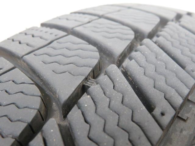 タイヤの残り溝や状態がわかる 写真