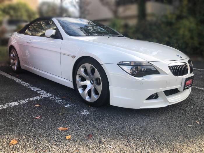 BMW6シリーズカブリオレお客様車両画像