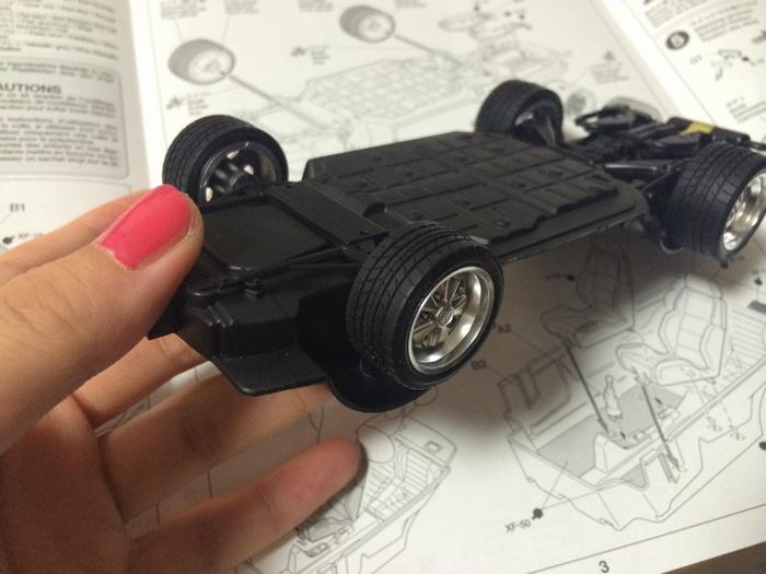 タイヤはゴムでできていてなんだかミニ四駆みたいw