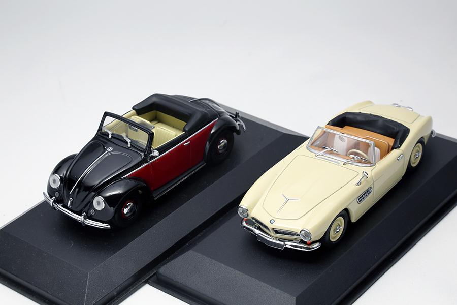 ドイツ車のミニカーたち