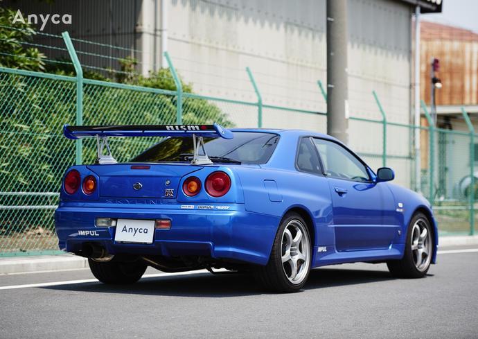 日産スカイラインGT-R R34 エニカ anyca