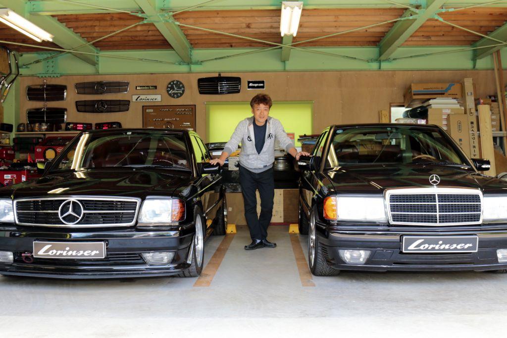 2台のロリンザーと暮らす喜び「メルセデス・ベンツ190E 3.0ロリンザー タイプI&タイプII(W201)」オーナー、木下 修一さんにインタビュー