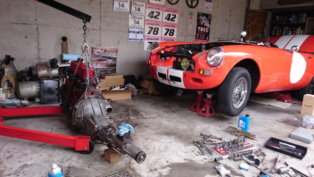 ユダ会長 旧車のレストア