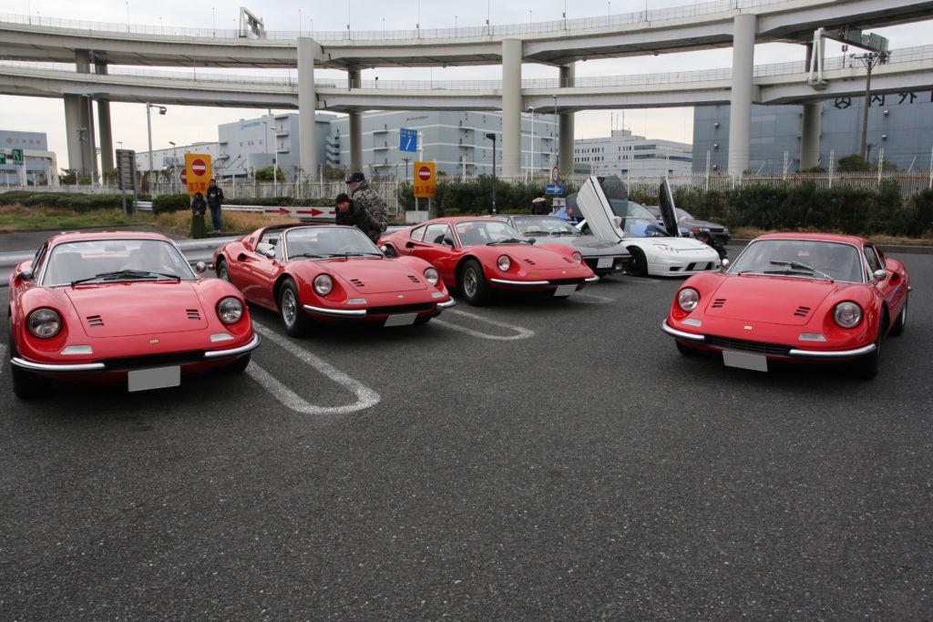 フェラーリ 206GT 246GT ユダ会長 HCC95