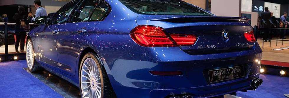 BMWアルピナ B6グランクーペイメージ