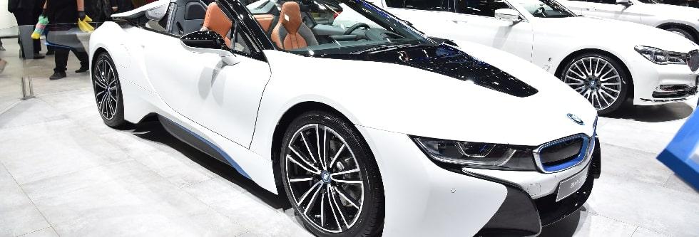 BMW i8ロードスターイメージ