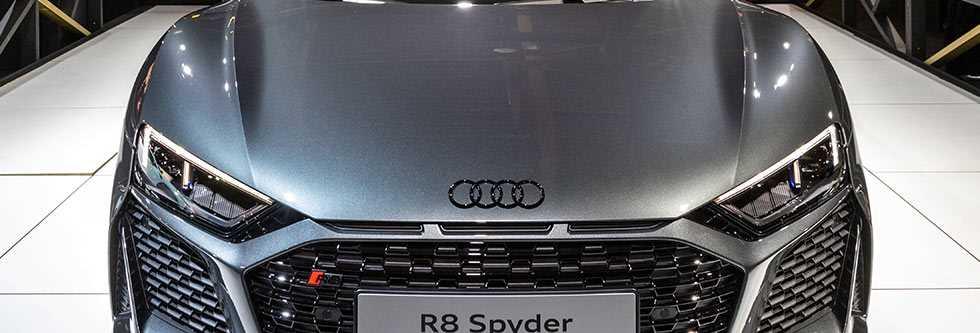 アウディ R8スパイダーイメージ