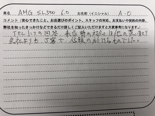 神奈川県 40代 男性 A.O様