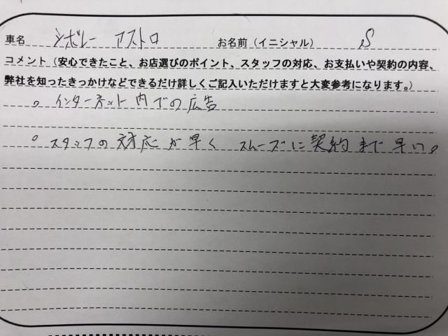 福島県 30代 男性 S様