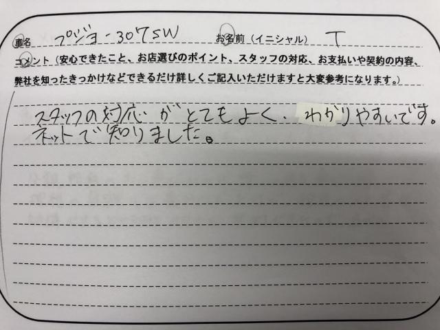 茨城県 30代 男性 T様