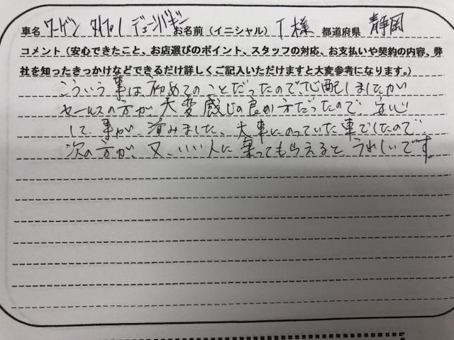 静岡県 60代 男性 T様