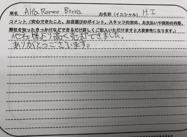 滋賀県 20代 男性 H.I様