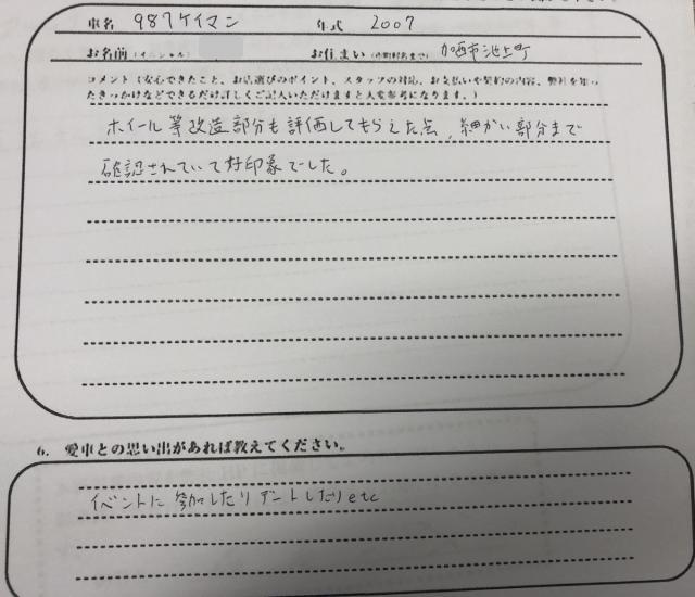 兵庫県 20代 男性 N様