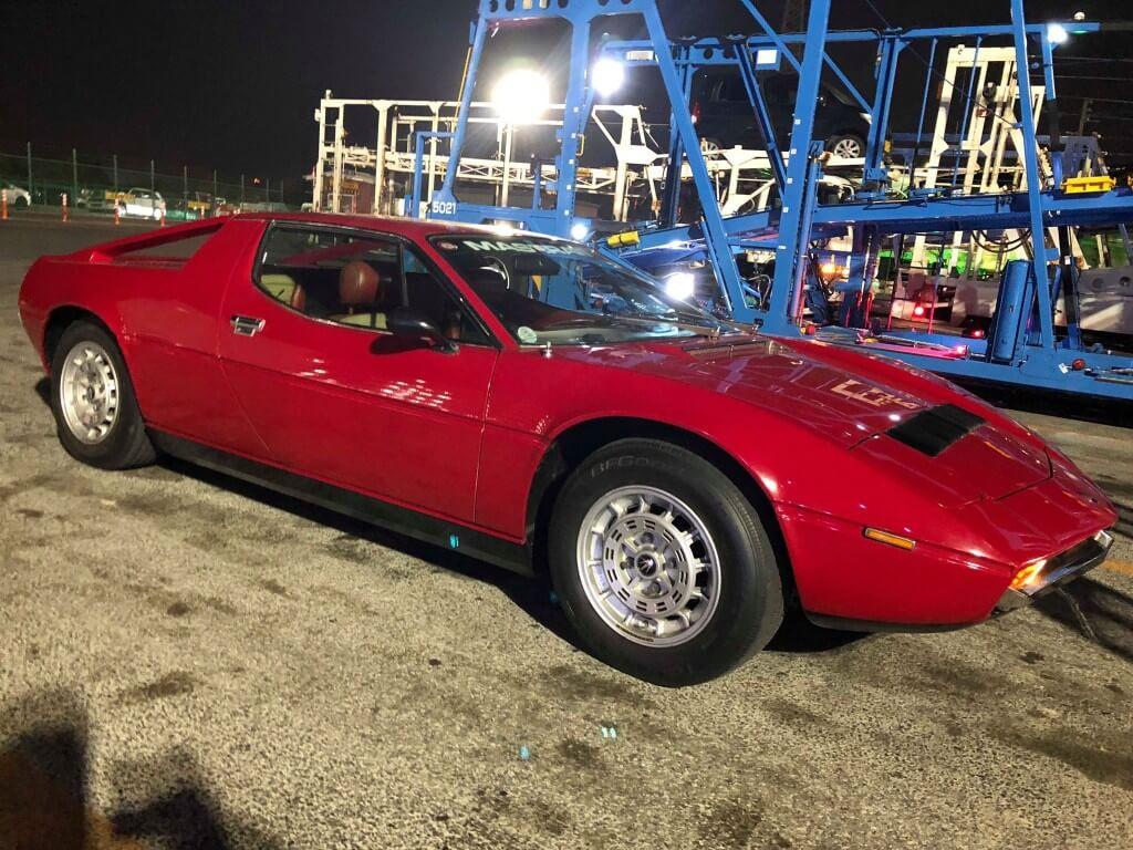 スーパーカーブームの時代からやって来た正しいスーパーカー!マセラティ・メラクSS サムネイル画像`