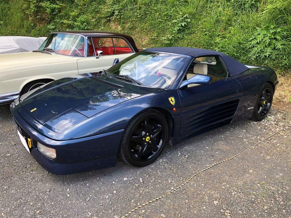 もはやシアワセ以外の何ものでもない。フェラーリ 348スパイダー サムネイル画像`